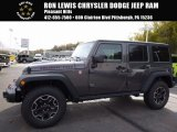 2017 Granite Crystal Metallic Jeep Wrangler Unlimited Rubicon Hard Rock 4x4 #116734614