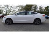 2017 White Platinum Ford Fusion Sport AWD #116734539