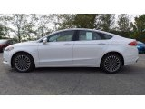 2017 Oxford White Ford Fusion SE AWD #116734538