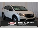 2016 White Diamond Pearl Honda CR-V LX AWD #116757321