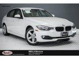 2014 Mineral White Metallic BMW 3 Series 320i Sedan #116757510