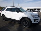 2017 Oxford White Ford Explorer XLT 4WD #116757381