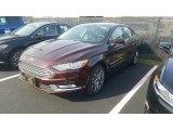 2017 Burgundy Velvet Ford Fusion SE #116757620