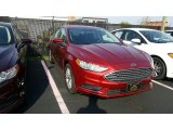 2017 Ruby Red Ford Fusion SE #116757613