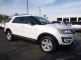 2017 White Platinum Ford Explorer XLT 4WD #116757372