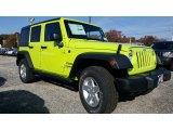 2017 Hypergreen Jeep Wrangler Unlimited Sport 4x4 #116757310