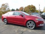 2017 Ruby Red Ford Fusion Titanium AWD #116757364