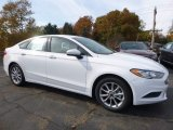 2017 Oxford White Ford Fusion SE #116757362