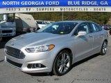 2013 Ingot Silver Metallic Ford Fusion Titanium #116757211