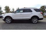 2017 Oxford White Ford Explorer XLT 4WD #116757480