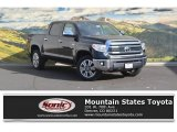 2017 Midnight Black Metallic Toyota Tundra 1794 CrewMax 4x4 #116757274