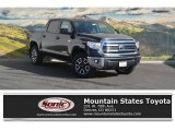 2017 Midnight Black Metallic Toyota Tundra SR5 CrewMax 4x4 #116757272