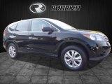2014 Crystal Black Pearl Honda CR-V EX AWD #116757340