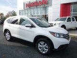 2014 White Diamond Pearl Honda CR-V EX-L AWD #116757662