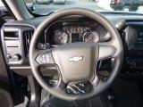 2017 Chevrolet Silverado 1500 Custom Double Cab 4x4 Steering Wheel