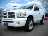 2008 Bright White Dodge Ram 1500 Sport Regular Cab 4x4 #11659530