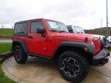 2017 Jeep Wrangler Firecracker Red