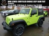 2017 Hypergreen Jeep Wrangler Sport 4x4 #116783504