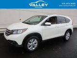 2014 White Diamond Pearl Honda CR-V EX AWD #116783400