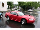 2001 Laser Red Metallic Ford Mustang GT Coupe #11669604