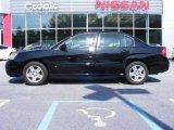 2007 Black Chevrolet Malibu LT Sedan #11668906