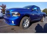 2017 Blue Streak Pearl Ram 1500 Sport Quad Cab #116783582