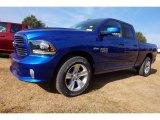 2017 Blue Streak Pearl Ram 1500 Sport Quad Cab #116783581