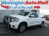 2008 Super White Toyota Tundra Limited Double Cab 4x4 #116783557