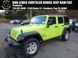 2017 Hypergreen Jeep Wrangler Unlimited Sport 4x4 #116783509
