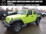 2017 Hypergreen Jeep Wrangler Unlimited Rubicon 4x4 #116783508
