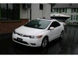 2007 Taffeta White Honda Civic Si Coupe #11669610