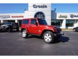 2012 Deep Cherry Red Crystal Pearl Jeep Wrangler Sahara 4x4 #116806098