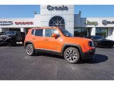 2017 Omaha Orange Jeep Renegade Latitude #116806093