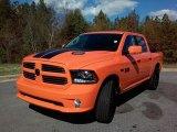 2017 Ram 1500 Ignition Orange