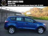 2017 Lightning Blue Ford Escape S #116806005