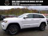 2017 Bright White Jeep Grand Cherokee Limited 4x4 #116806190