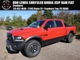 2017 Flame Red Ram 1500 Rebel Crew Cab 4x4 #116846928