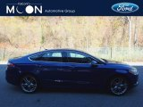 2013 Deep Impact Blue Metallic Ford Fusion Titanium AWD #116847032