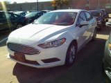 2017 Oxford White Ford Fusion SE #116847126