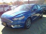 2017 Lightning Blue Ford Fusion SE #116847124