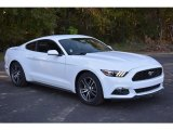2017 Oxford White Ford Mustang Ecoboost Coupe #116847060