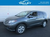 2014 Polished Metal Metallic Honda CR-V EX AWD #116846860