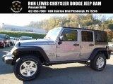 2017 Billet Silver Metallic Jeep Wrangler Unlimited Sport 4x4 #116871242