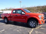 2016 Race Red Ford F150 XL SuperCab 4x4 #116871064