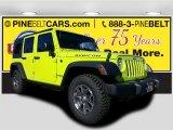 2017 Hypergreen Jeep Wrangler Unlimited Rubicon 4x4 #116871004