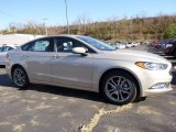 2017 White Gold Ford Fusion SE #116871063