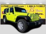 2017 Hypergreen Jeep Wrangler Unlimited Sport 4x4 #116871003