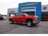 2014 Victory Red Chevrolet Silverado 1500 LT Crew Cab #116871230