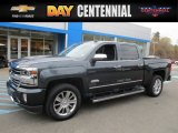 2017 Pepperdust Metallic Chevrolet Silverado 1500 High Country Crew Cab 4x4 #116871055