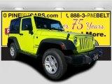 2017 Hypergreen Jeep Wrangler Sport 4x4 #116870993